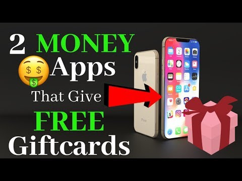 2 Money Apps That Give Free Gift Cards