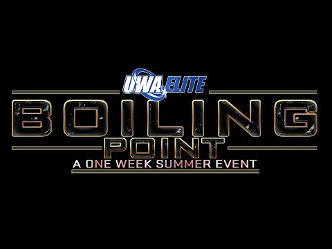 UWA Elite: Boiling Point 2015 (Tuesday)