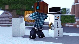 Minecraft - 10 Curiosidades Sobre o Snow Golem ( Boneco de Neve) !!