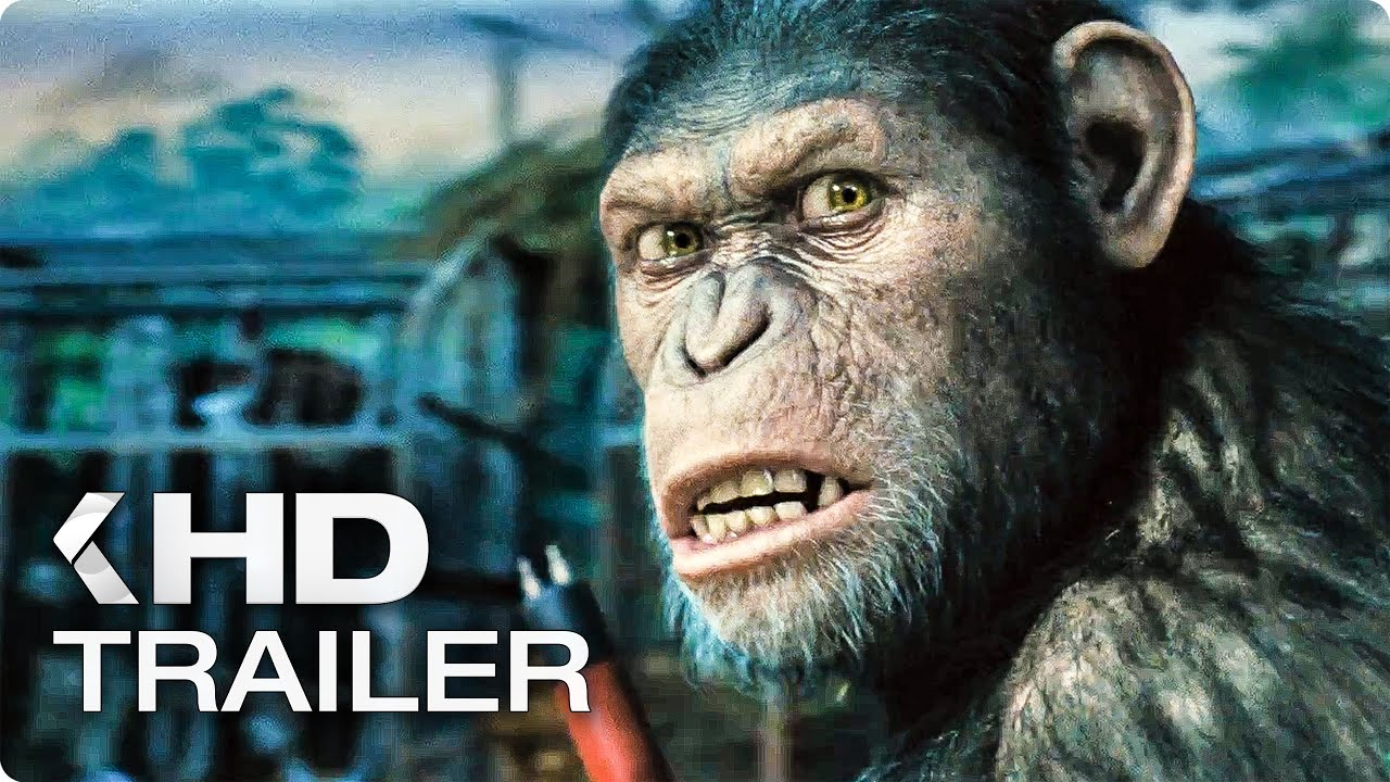 "WAR FOR THE PLANET OF THE APES ""Legacy Story Recap"" Featurette & Trailer (2017)"