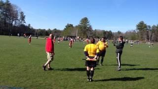 REF stoppage in 11th min 15G Impact vs FCU