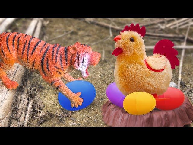 Chú gà vui nhộn trông nom những quả trứng - đồ chơi trẻ em FMC I226T