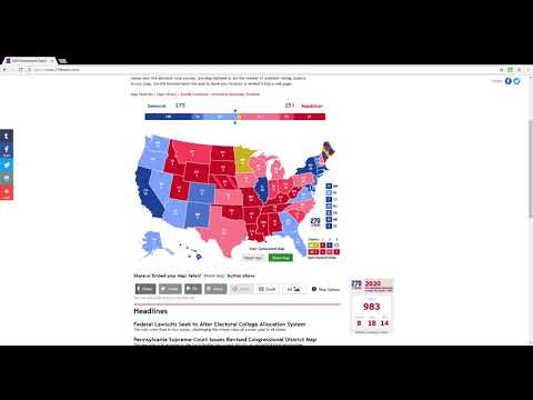 2024 Presidential Election Baseline State Ratings