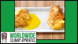 How to Deep Fried Eggs - Breakfast Eggs - Poached Deep Fried Eggs - Deep Fried Eggs