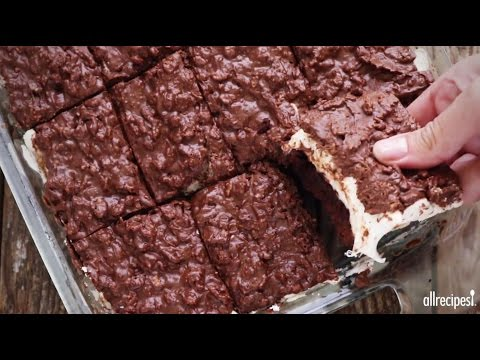 Dessert Recipes – How to Make Brownie Mallow Bars