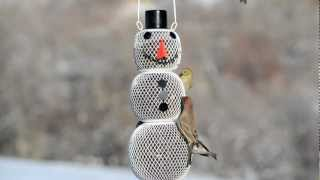 No/no® Snowman Wild Bird Feeder