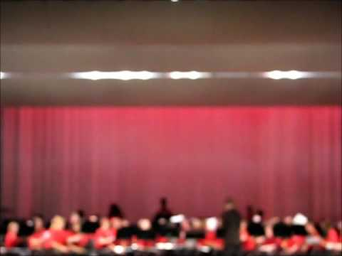 Cowpens Middle school 7th and 8th grade December song 2015