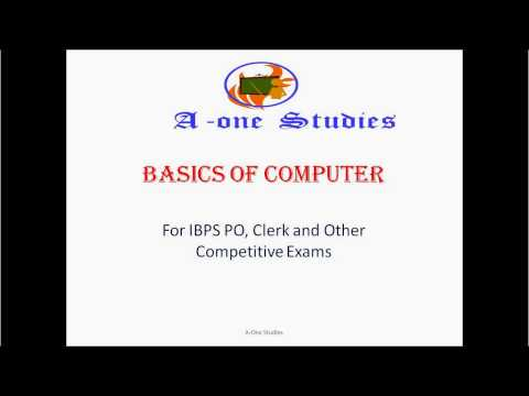 Computer Lecture for Banking and competitive exams