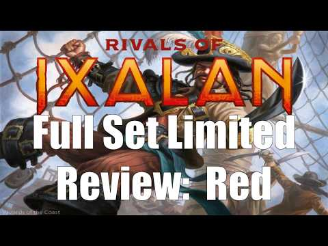 Rivals of Ixalan Full Set Limited Review: Red