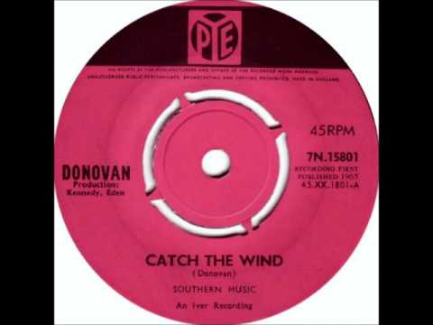 Donovan - Catch The Wind, 1965 PYE Records.