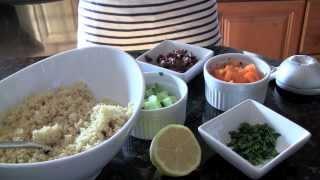 Recipe: Easy & Healthy Greek Couscous Salad!