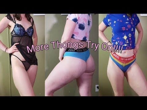 Spring Try On Haul 2019 (Avenger Thong Try On)