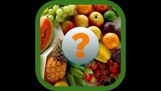 'Угадай плод' -  ответы с 1 по 10 уровни.