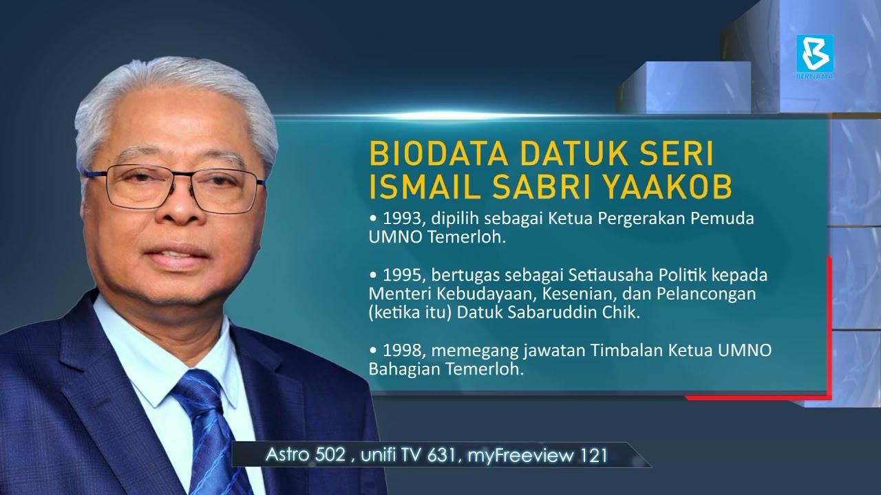 Biodata Tpm Datuk Seri Ismail Sabri Yaakob Youtube