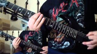 Sacrifice - Forward to Termination/Terror Strikes (guitar cover)
