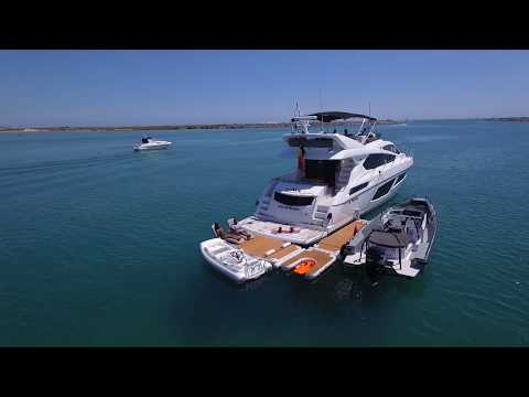 NautiBuoy Marine in Portugal, with Sunseeker yachts, AxoPar,