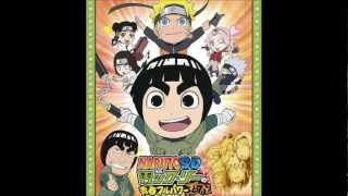 """Rock Lee GO!!!"" Soundtrack [NarutoSD Rock Lee no Seishun Full Power Ninden]"