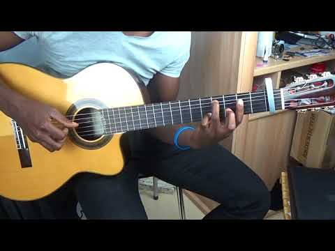 Guitar tutorial : Lokumu eza ya yo from Gael - How to play guitar