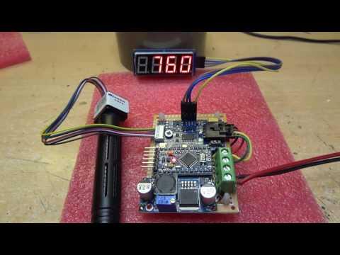 MH-Z16 NDIR CO2 Sensor with I2C/UART Interface Adaptor for Arduino
