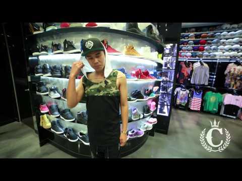 Chinga Clothing - Camo Cut Hood Tank (ft. Prince @ Culture Kings)
