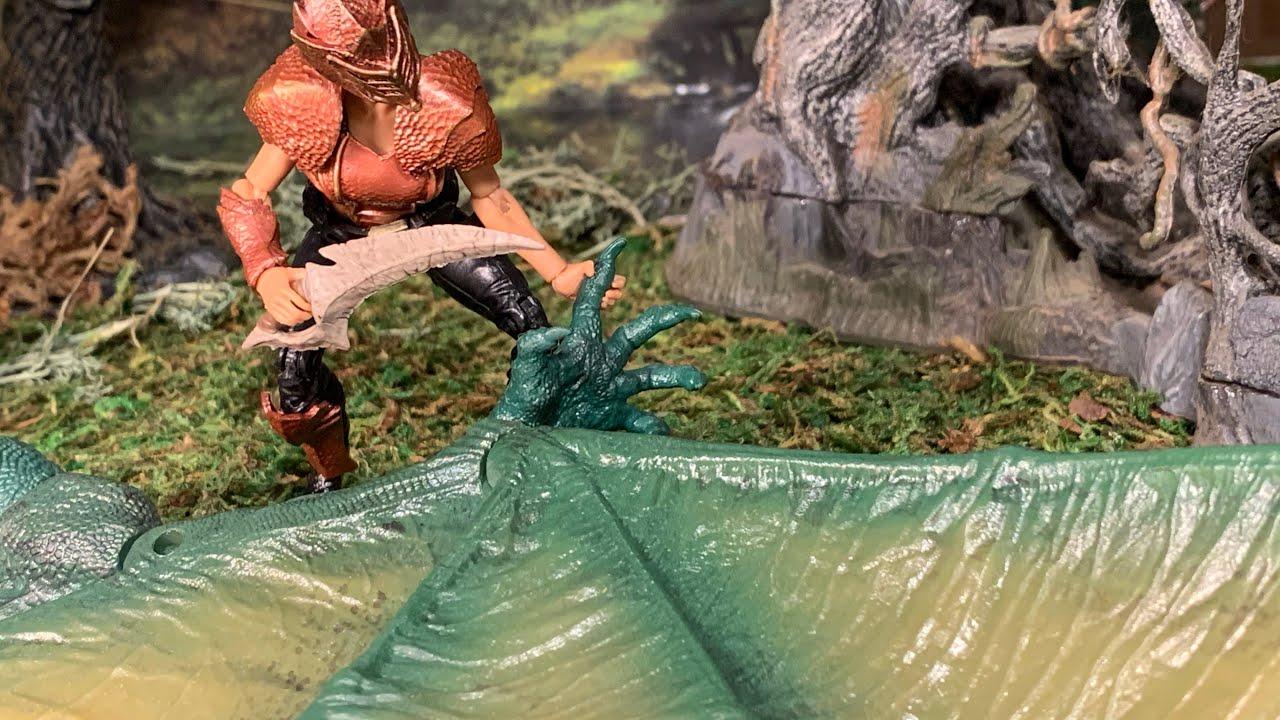 "GHARILIA DRAGON HARVESTER Boss Fight Studios VITRUVIAN HACKS 4/"" Inch FIGURE"