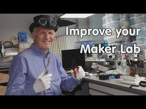 #199 How To Improve Your Maker Lab