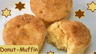 Donut-Muffins mit Zimt und Zucker blitzschnell gemacht!