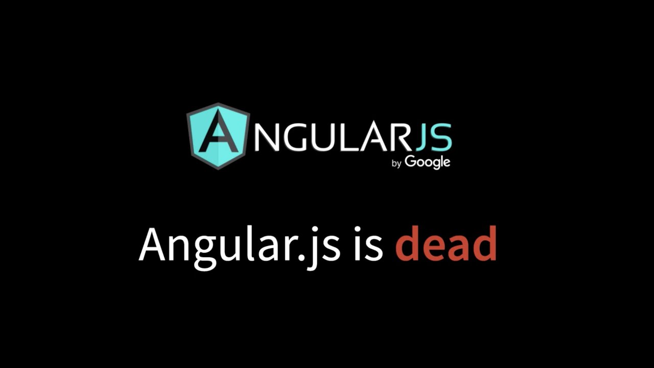 Angular.js is Dead - An overview