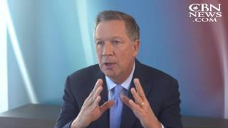 Gov. Kasich Discusses New Book, Two Paths: America Divided or United