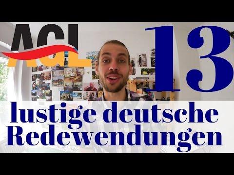 13 funny German idioms | 13 lustige deutsche Redewendungen [Untertitel][Deutsch lernen]