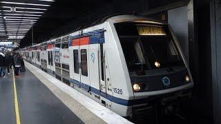 RER, metros, trams and suburban trains at La Défense station