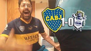 BOCA CAMPEON 1 Gimnasia LP 0 | Superliga Argentina - Fecha 23 | Reaccion de Hinchas de BOCA