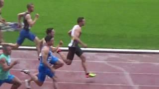 Мемориал братьев Знаменских, бег 100 метров