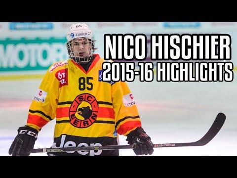 new style 054e6 fae9b Nico Hischier | 2015-16 Highlights | SC Bern - YouTube
