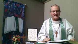 Fourth Sunday After Pentecost Online Produced Worship - Christ UMC, Selinsgrove, PA ~ June 20, 2021