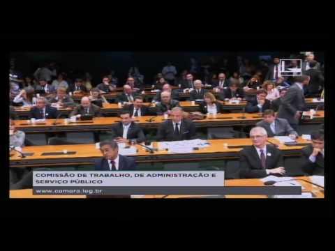 TRABALHO, ADMINISTRAÇÃO E SERVIÇO PÚBLICO - Audiência Pública - 05/07/2016 - 14:26
