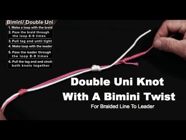 The 6 Best Knots For Braided Line To Heavy Monofiliment