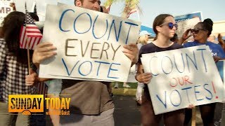 Florida Governor, Senate Midterm Races Head To Statewide Machine Recount | Sunday TODAY