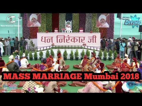 Nirankari MASS marriage Maharastra || 30 January 2018 || photo