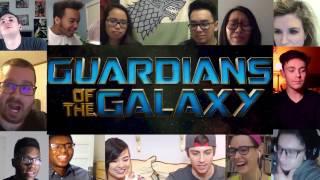 Реакция на Стражи Галактики #2 трейлер