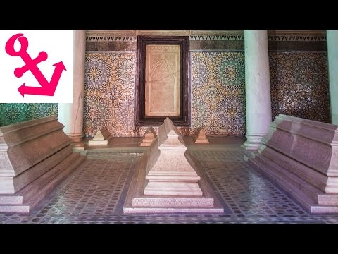 [FULL HD] The Saadian Tombs in Marrakech Morocco
