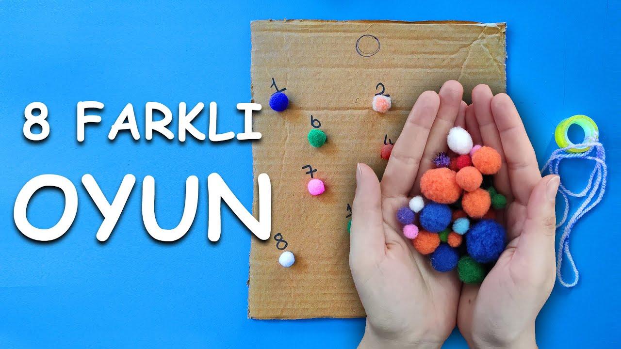 MATEMATİK ETKİNLİKLERİ 🥇 (8 ADET) Anaokulu Etkinlikleri ve Okul Öncesi Çocuk Oyunları