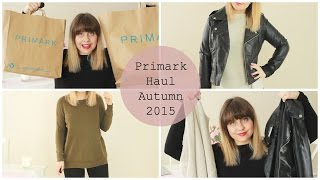 Primark Haul October/ Autumn 2015 (Try on) | fayesfix