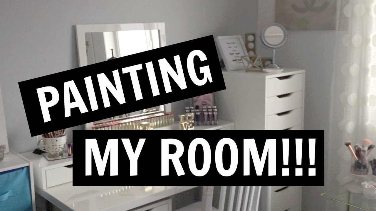 Painting My Room How To Paint A Steps Process