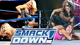 Top 10 WWE Non -Title Womens Matches on SMACKDOWN (Underrated Matches)