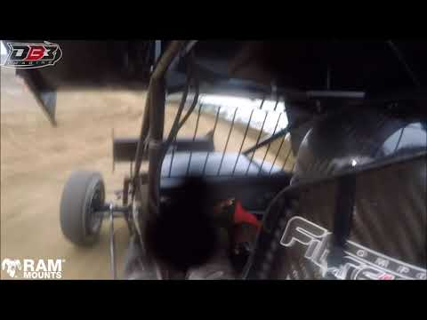 On-Board with Carson Macedo | Attica Raceway Park | Sept 9,2017