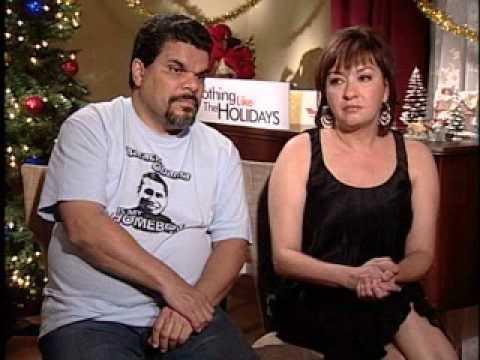 10 Luis Guzman and Elizabeth Pena Nothing Like the Holidays Press Junket