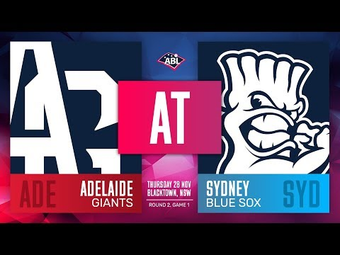 Adelaide Giants @ Sydney Blue Sox | Round 2, Game 1