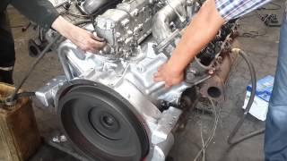 Первый  запуск ЯМЗ 236 после капитального ремонта. Полное видео(, 2015-06-22T16:45:05.000Z)