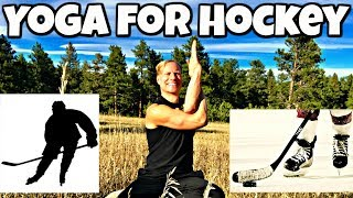 Yoga for Hockey Players - Sean Vigue Fitness - Yoga for Sports Series